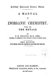 A manual of inorganic chemistry: Volume 2