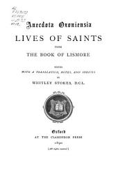 Lives of saints from the Book of Lismore: Part 5