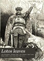 Lotos Leaves: Original Stories, Essays, and Poems