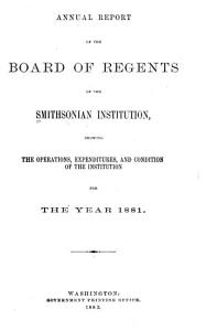 Annual Report of the Board of Regents PDF