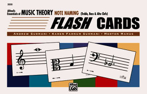 Alfred s Essentials of Music Theory Note Naming Flash Cards