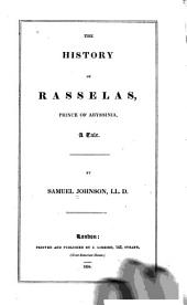 The History of Rasselas, Prince of Abyssinia: A Tale