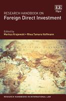 Research Handbook on Foreign Direct Investment PDF