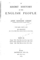 A Short History of the English People: Volumes 3-4
