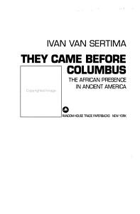 They Came Before Columbus Book