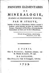 Principes élémentaires de minéralogie, d'après le Prof. Werner
