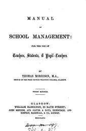 Manual of school management