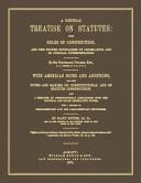 A General Treatise on Statutes PDF