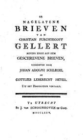 Het leven van Christian Furchtegott Gellert: Volume 2