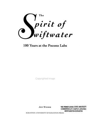 The Spirit of Swiftwater PDF