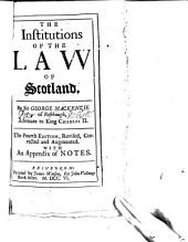 The Institutions of the Law of Scotland