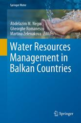 Water Resources Management In Balkan Countries Book PDF