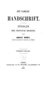 Het familiehandschrift: verhalen der provincie Braband