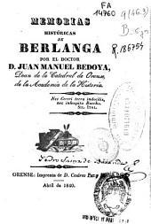 Memorias historicas de Berlanga