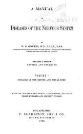 A Manual of Diseases of the Nervous System: Volume 1