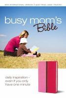 NIV Busy Mom s Bible PDF
