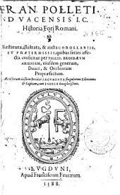 Fran. Polleti ... Historia Fori Romani