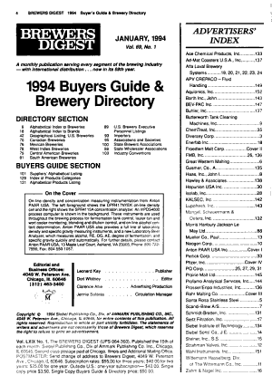 The Brewer s Digest