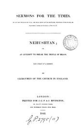 Sermons for the times, by clergymen of the Church in England. 1st(2nd) of a series: Volume 11