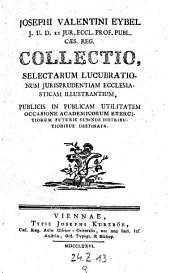 E dissertationibus octo in historiam ecclesiasticam Bambergae latine editio dissertationes quinque priores: Volume 9