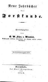 Neue Jahrbücher der Forstkunde: Band 27