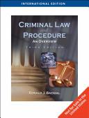 Criminal Law and Procedure PDF