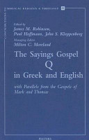 The Sayings Gospel Q in Greek and English PDF