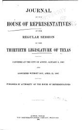 Journal of the House of Representatives ...: Volume 30
