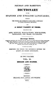 Dictionary of the Spanish and English Language PDF