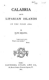 Calabria and the Liparian Islands in the Year 1860
