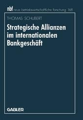Strategische Allianzen im internationalen Bankgeschäft
