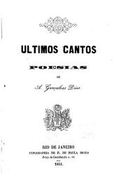 Ultimos cantos: poesias
