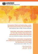 Competent National Authorities under the International Drug Control Treaties 2015