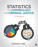 Statistics for Criminology and Criminal Justice PDF