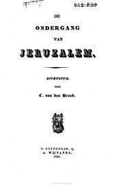 De ondergang van Jeruzalem: dichtstuk