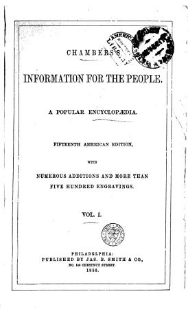 Chambers s Information for the People PDF