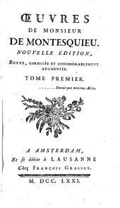 Œuvres de M. de Montesquieu