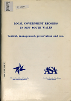 Local Government Records in New South Wales PDF