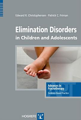 Elimination Disorders in Children and Adolescents