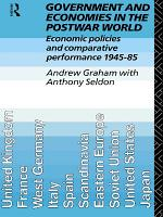 Government and Economies in the Postwar World PDF