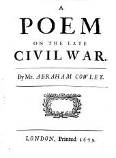 A Poem on the Late Civil War