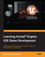 Learning Unreal   Engine iOS Game Development PDF