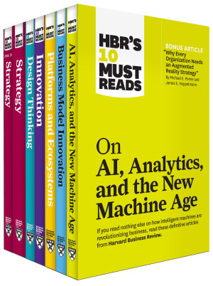 HBR s 10 Must Reads on Technology and Strategy Collection  7 Books