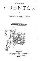 """Varios cuentos ...: Edición de """"El Nacional""""."""