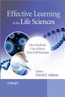Effective Learning in the Life Sciences PDF
