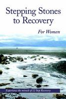 Stepping Stones To Recovery For Women PDF
