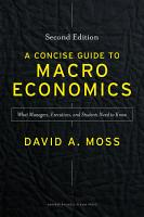 A Concise Guide to Macroeconomics  Second Edition PDF