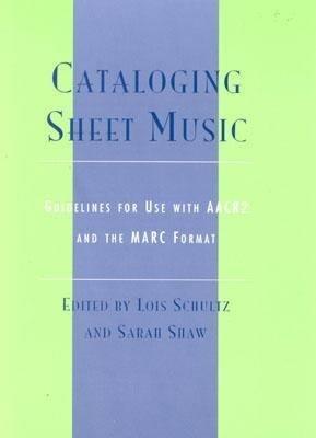 Cataloging Sheet Music