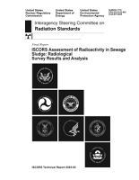 ISCORS assesement  sic  of radioactivity in sewage sludge radiological survey results and anaysis PDF