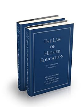 The Law of Higher Education PDF